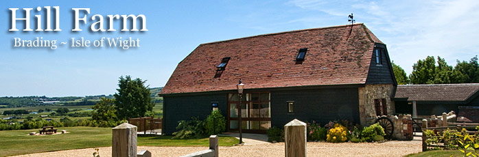 Hill Farm Barn Self Catering Accommodation - Hill Farm, Brading Isle of Wight